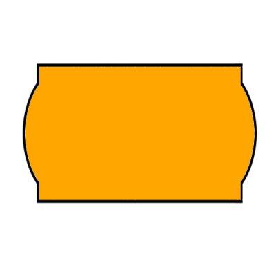 Ценник фигурн. 26х12 (рул.3м) оранж.