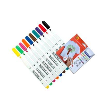 Набор маркеров Centropen 2739 для текстиля (10 цветов) **